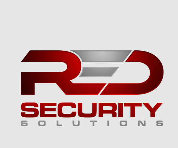 red-security-solutions-logo-design