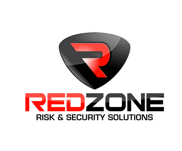 red-zone-security-solutions-logo-design