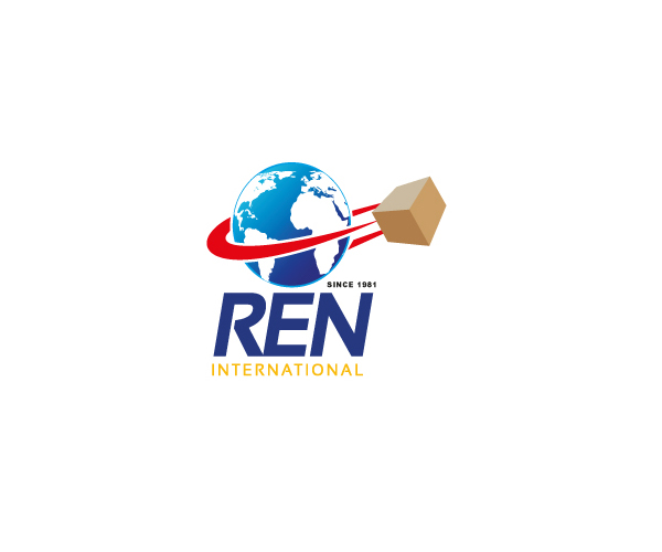 ren-international-logo-design-cargo