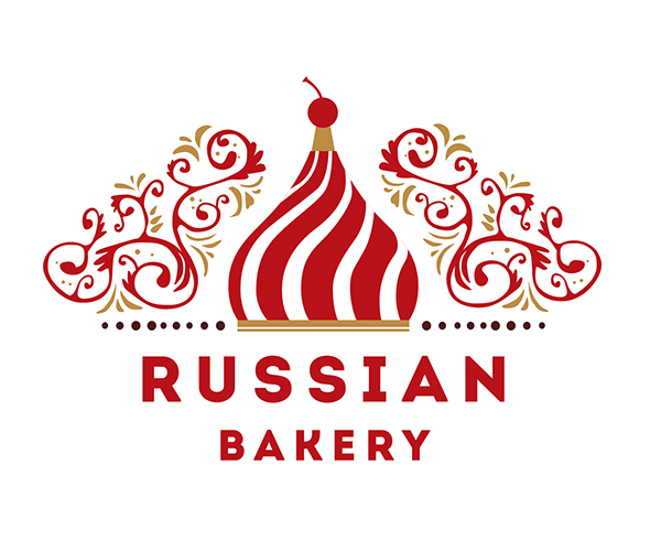 russian-bakery-logo-design