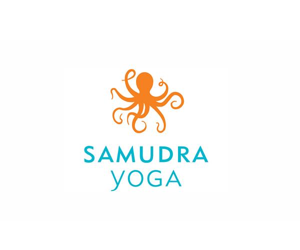 samudra-yoga-logo-design