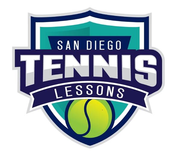 san-diego-tennis-lessons-logo-design