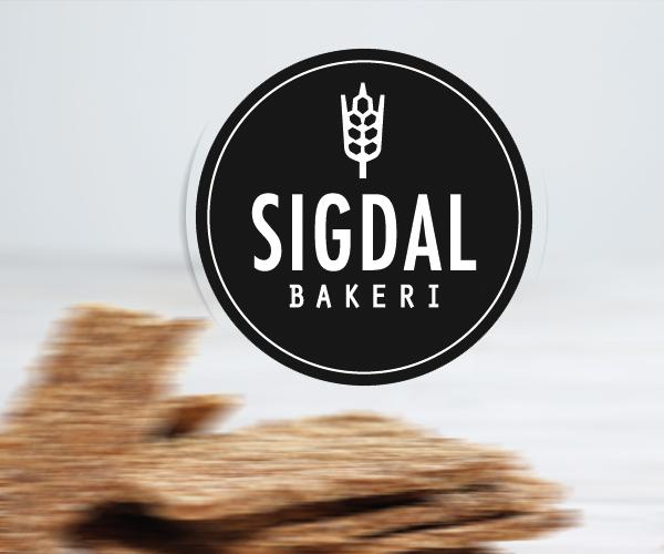 sigdal-bakeri-logo-design