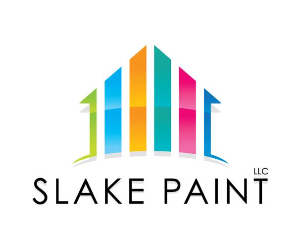 slake-paint-logo-design