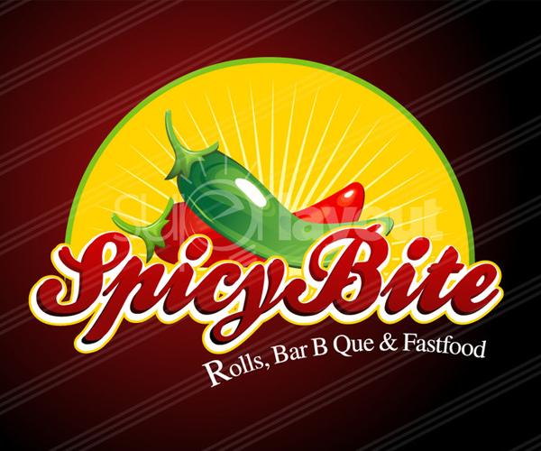 spicy-bite-fastfood-restaurant-logo-deisgn