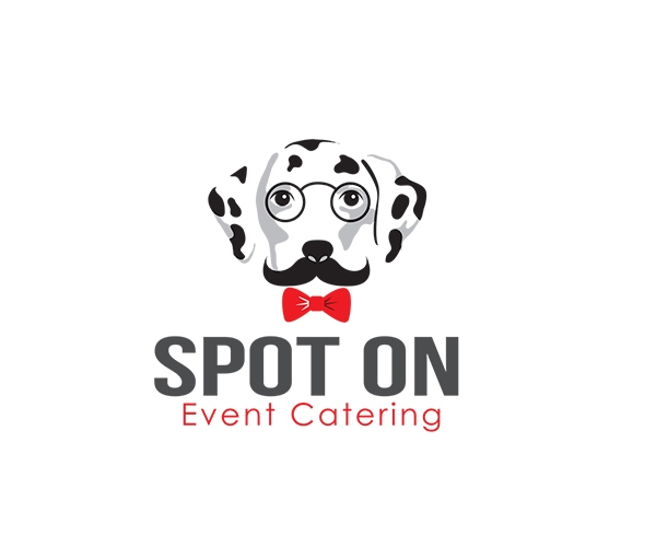 spot-on-event-catering-logo-designer