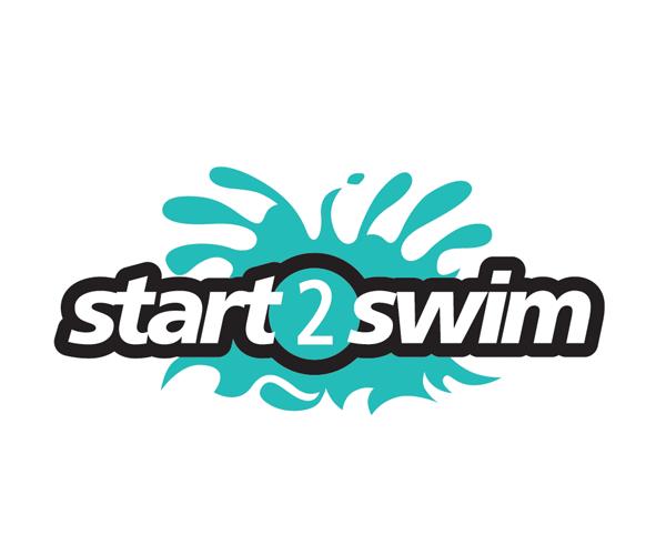 start-2-swim-logo-design