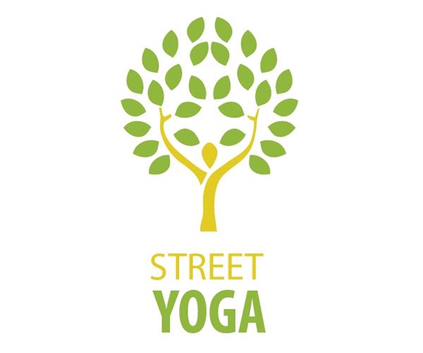 street-yoga-logo-design