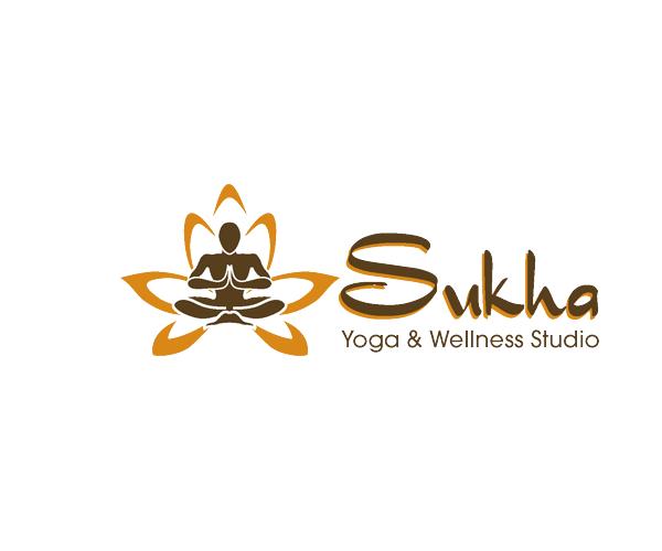 sukha-studio-yoga-logo-designer
