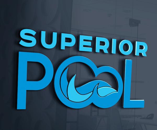 superior-pool-logo-design