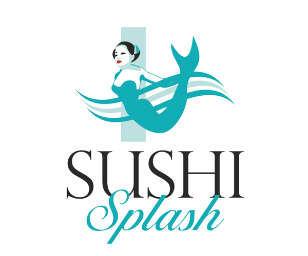 sushi-splash-logo-design