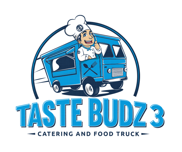 taste-budz-3-catering-food-tuck-logo-design