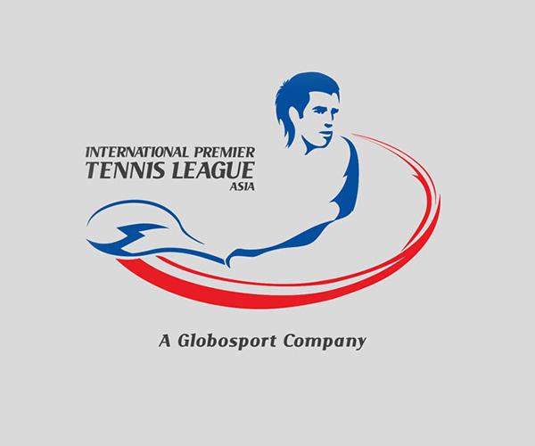 tennis-league-asia-logo-design