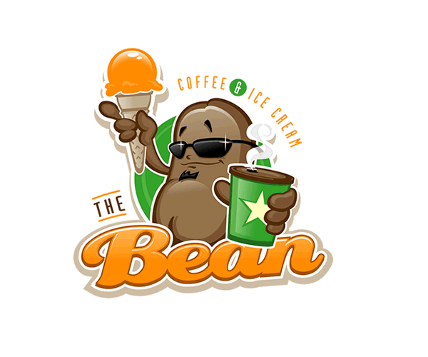 the-bean-coffe-and-icecream-logo