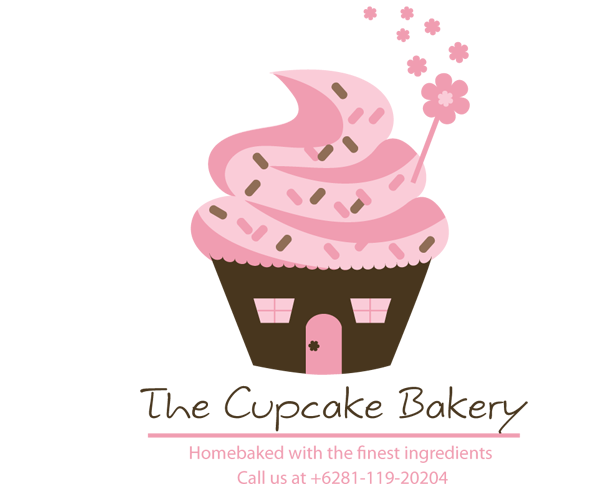 the-cupcake-bakery-logo-design