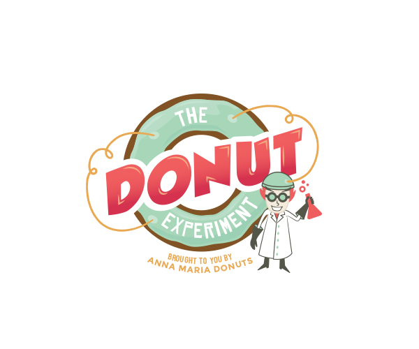 the-donut-experiment-logo-design
