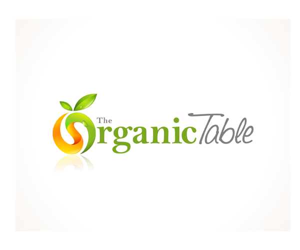 the-organic-table-logo-design