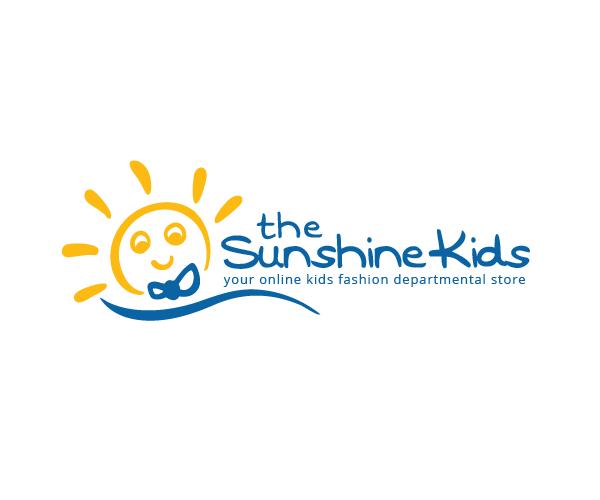 the-sunshine-kids-logo-for-fashion