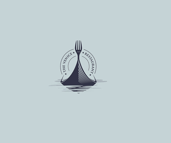 the-venice-restaurant-logo-design