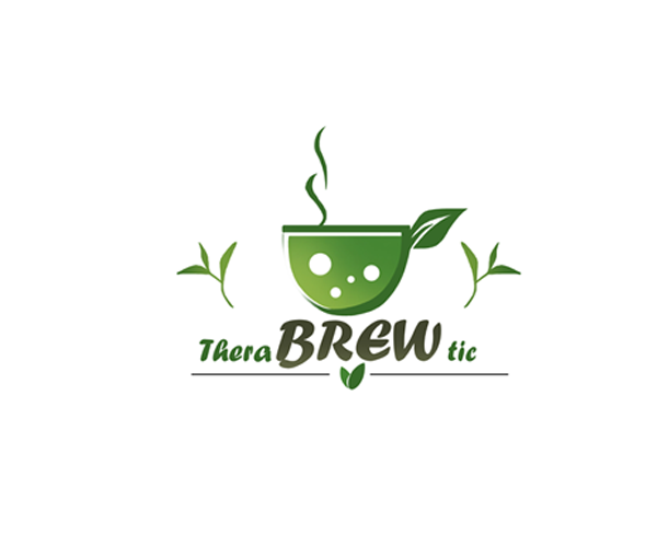 thera-brew-tie-logo-design