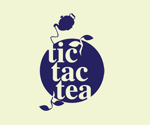 tic-tac-tea-logo-design