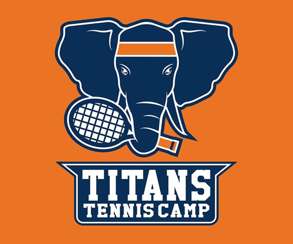 titans-tennis-camp-logo-design