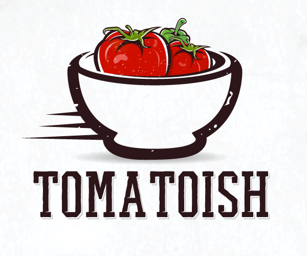 tomatoish-logo-design
