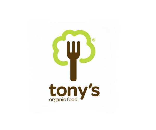 tonys-organic-food-logo-designer