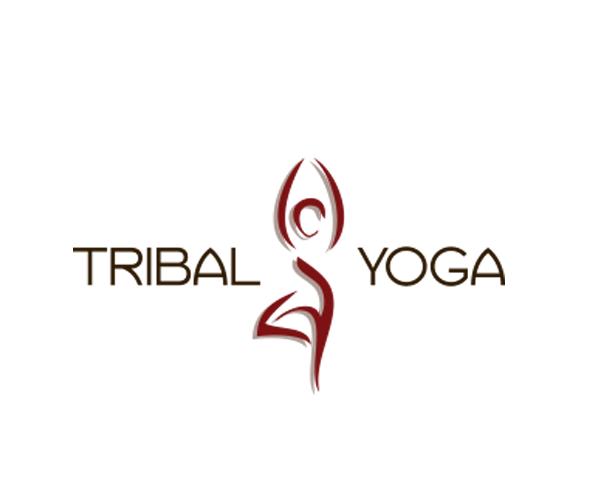 tribal-yoga-logo-design