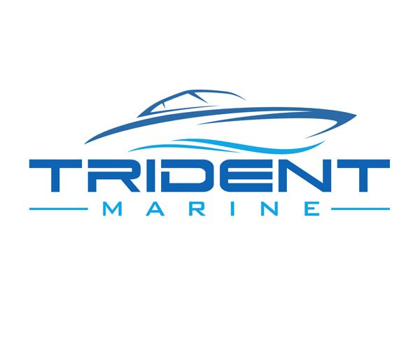 trident-marine-logo-design-company