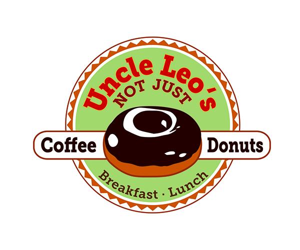 uncle-leo-donuts-logo-design