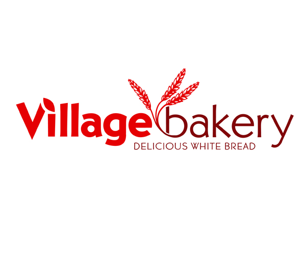 village-bakery-bread-logo-design