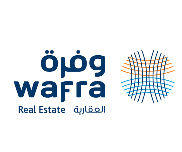 wafra-real-estate-logo-design