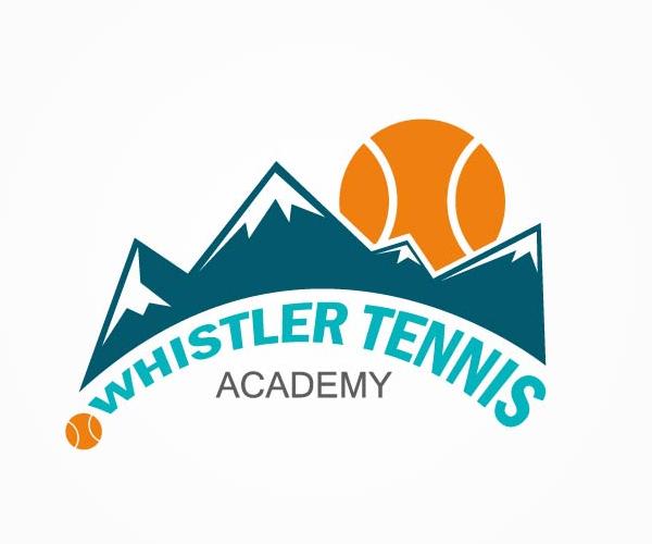 whistler-tennis-academy-logo-design