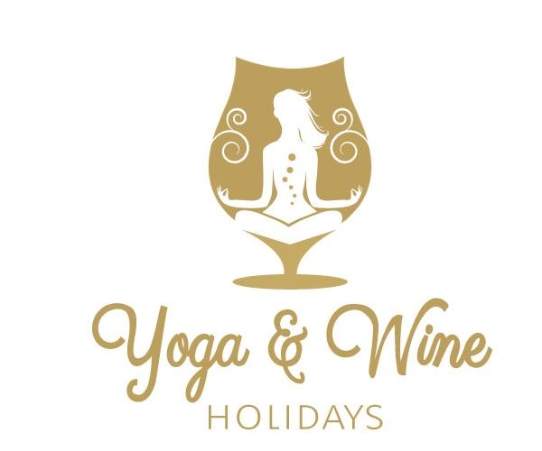 yoga-and-wine-holidays-logo-design