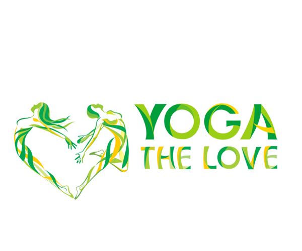 yoga-the-love-logo-design