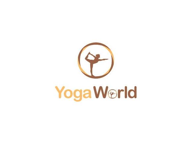 yoga-world-logo-design