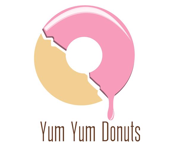 yum-yum-donuts-logo-design