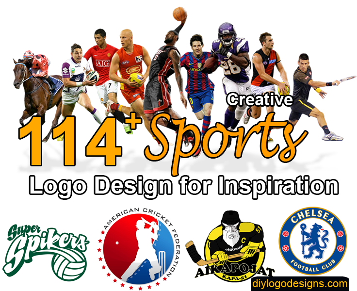 114+ Popular Sports Logo Design for Inspiration