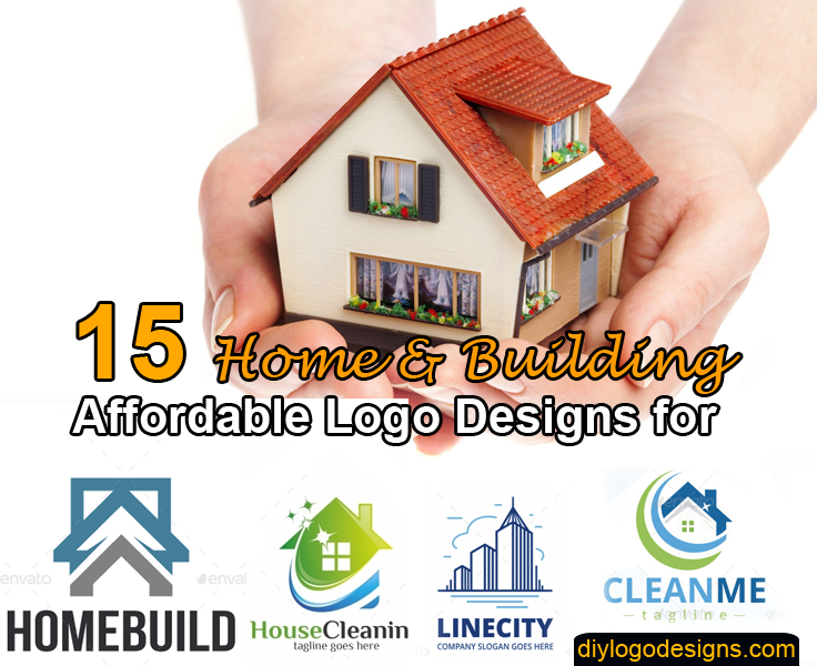 15+ Affordable Logo Designs for Home & Building