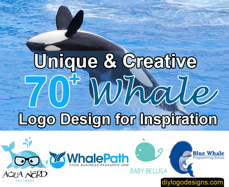 70+ Best Whale Logo Design Example for your Inspiration