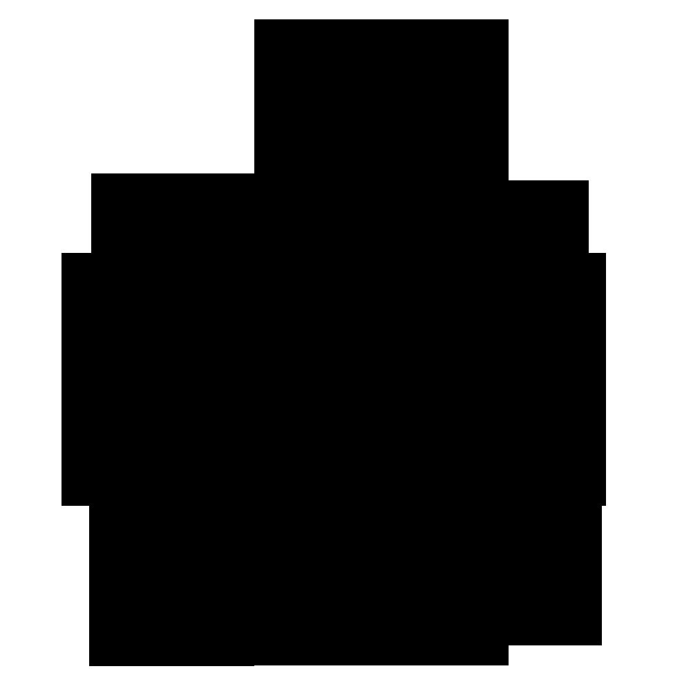 Apple Logo Black png Transparent