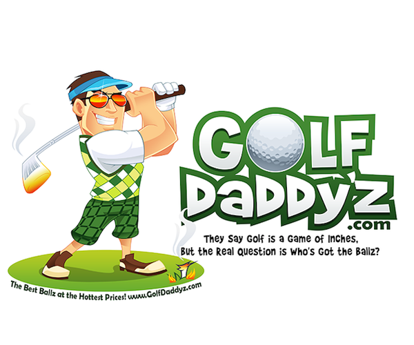 Golf-daddyz-logo-design
