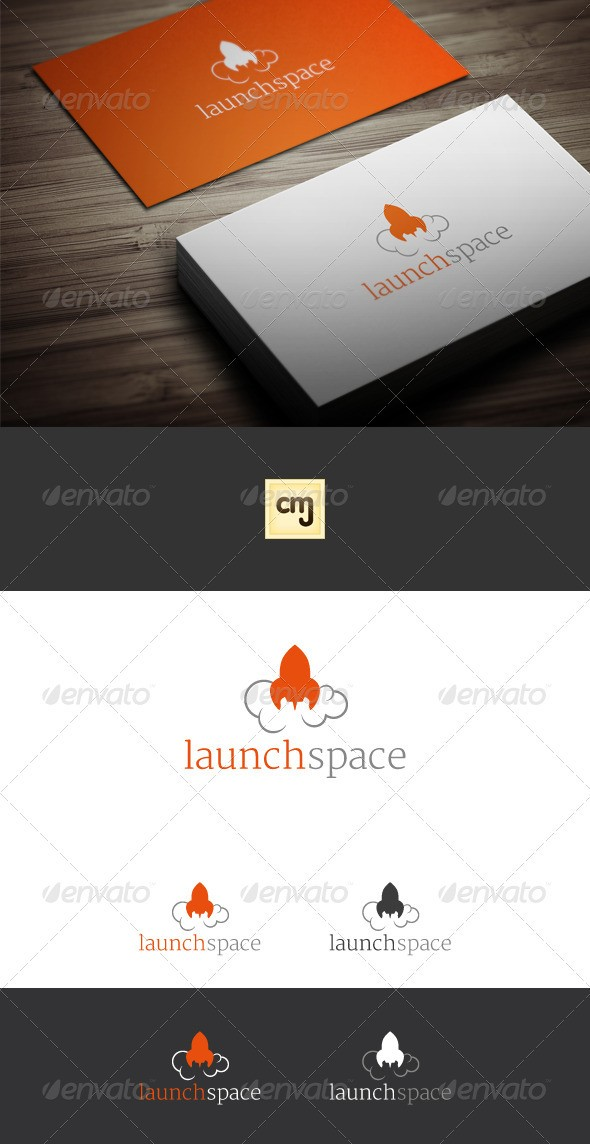 Launch Space Logo Template
