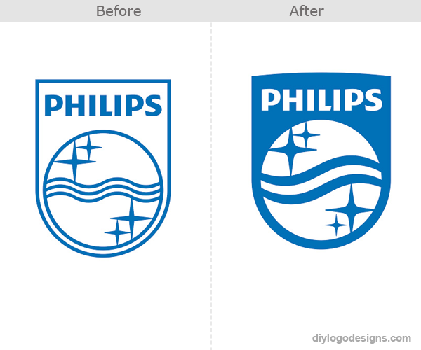 Philips-logo-design-before-and-after
