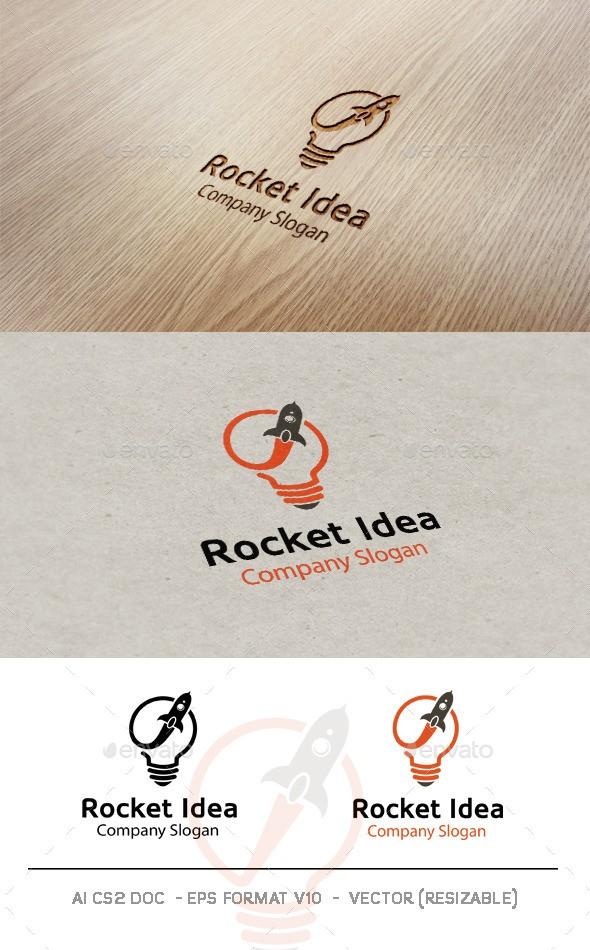 Rocket Idea Logo download