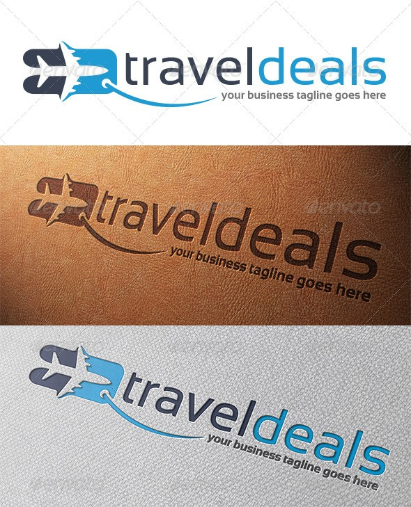 Travel Deals Logo Template