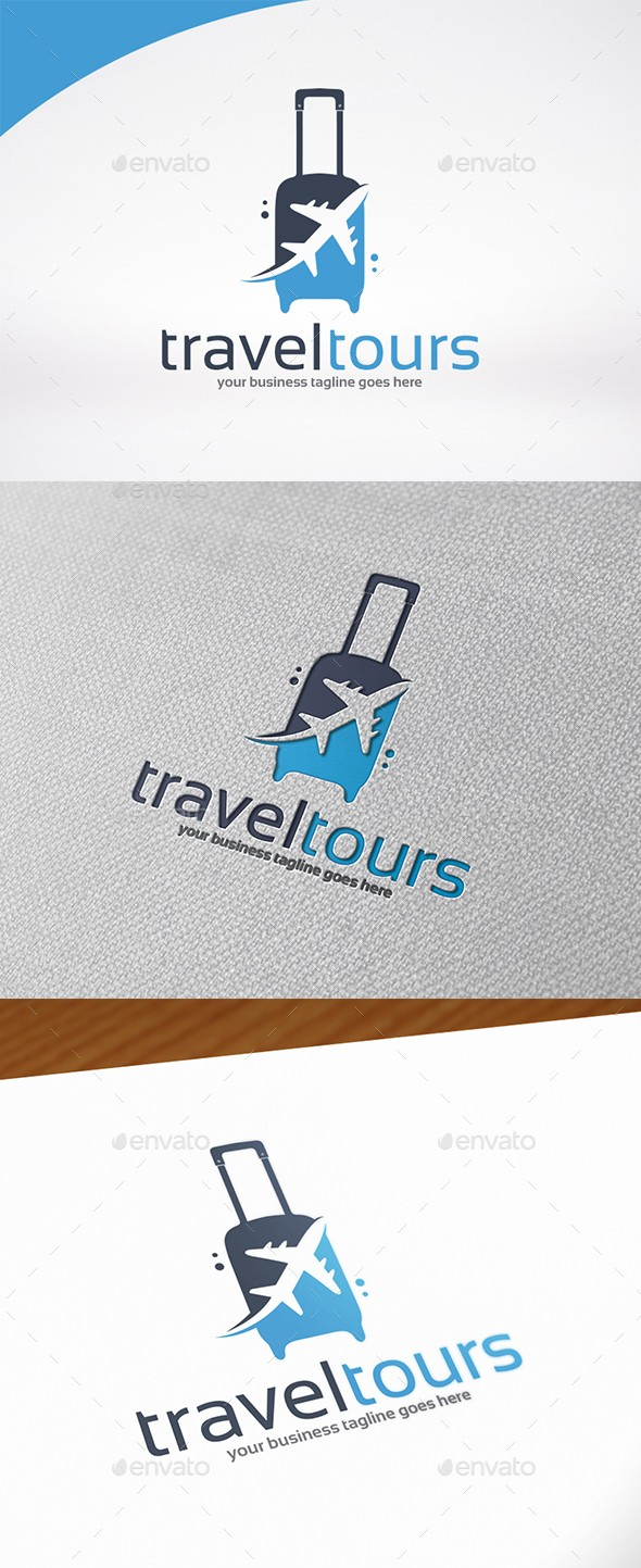 Travel & Tours Logo Template