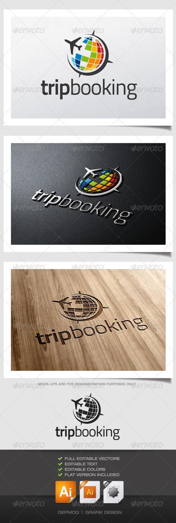 Trip Booking Logo download