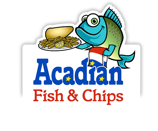 acadian-fish-and-chips-logo-design